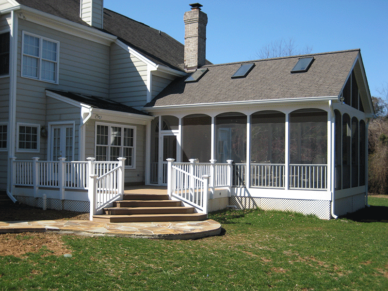 Rendon Remodeling - Corneau Porch