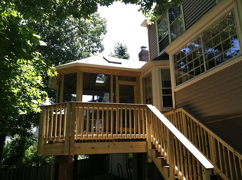 Rendon Remodeling - Chantilly, VA Porch