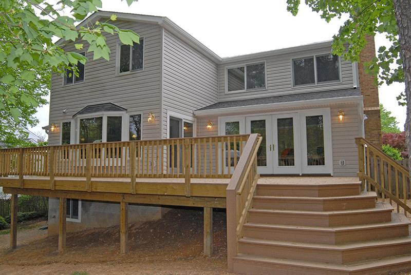 Rendon Remodeling - Annandale, VA home addition after