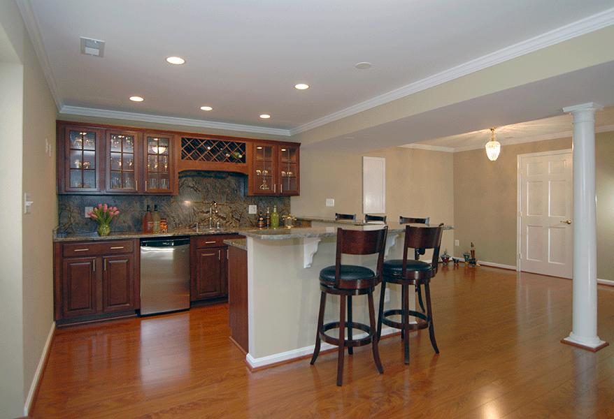 Rendon Remodeling - Sterling, VA Basement