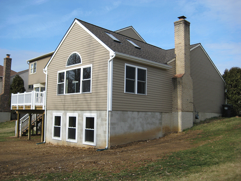 Rendon Remodeling - Chantilly home addition after
